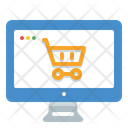 Online Shopping Cart Icon