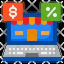 Marketing Shop Shopping Online Icon