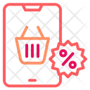 Online Shopping Discount Icon