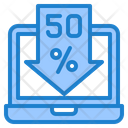 Online Shopping Discount Sale Discount Icon