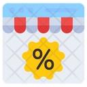 Online Shopping Discount Shopping Sale Shopping Offer Icon
