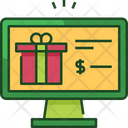 Online Shopping Gift Icon