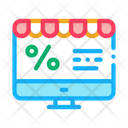 Online Shopping Offer Icon