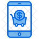 Payment Smartphone Cart Icon