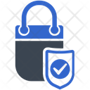 Online Shopping Protection Security Icon