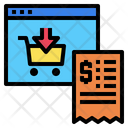 Web Site Shopping Online Icon
