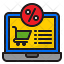 Online Shopping Sale Icon