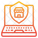 Online Shopping Security Icon