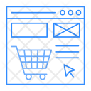 Online shopping site Icon