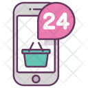 Online Shopping Stor Icon