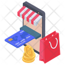 Online Shopping Store Icon