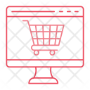 Shopping Ecommerce Lcd Icon
