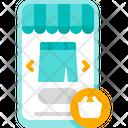 Online Skirt Shopping Skirt Store Icon