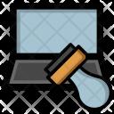 Online Attestation Stamp Icon