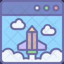 Startup Development Idea Icon