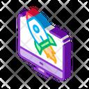 Rocket Computer Control Icon