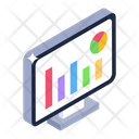 Online Statistics Online Analytics Business Infographics Icon