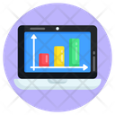 Online Statistics Web Statistics Web Analytics Icon