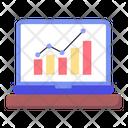 Online Statistics Icon