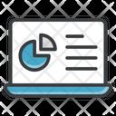 Online Statistics Online Analytics Web Analytics Icon