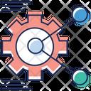 Cog Wheel Options Setting Icon