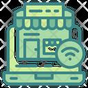 Online Stop Icon