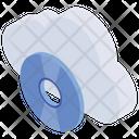 Online Storage Disc Technology Server Storage Icon