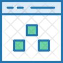 Online Storage Data Storage Online Icon