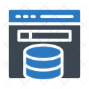 Online Storage Database Icon
