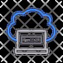 Cloud Online Storage Icon