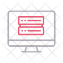 Server Online Storage Icon