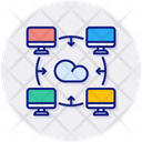 Online Storage Online Connection Icon
