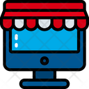 Online Store Shop Sales Icon