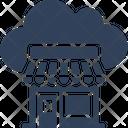 Cloud Store Cloud Shop Eshop Icon
