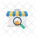 E Commerce Search Magnifier Icon