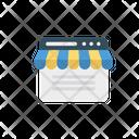 E Commerce Online Store Icon
