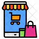 Mobile Screen Shop Icon