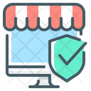 Online Store Ecommerce Check Mark Icon