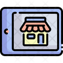 Online Store Marketing Smart Cart Icon