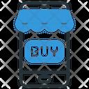 Smartphone Buy Online Shop Icon