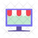 Ecommerce Online Store Online Shopping Icon