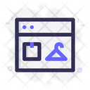 Web Browser Ecommerce Icon