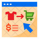 Online Store Shoping Store Icon