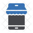 Online Store Online Shopping Store Icon