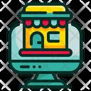 Online Store Online Shop Online Icon
