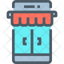 Online Store Marketplace Icon