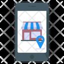 Online Store Location Icon