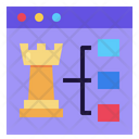Website Chess Market Icon