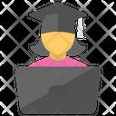 Online Scholar Student Icon