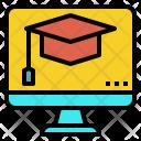 Online School Study Icon